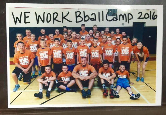 We Work Basketball Camp